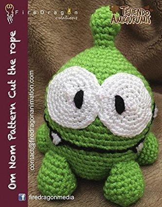 Om Nom Amigurumi Pattern (Magic Hands Magazine Book 3) (English Edition) | Fiber Arts | Scoop.it