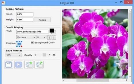 EasyPic, para redimensionar imágenes y añadir marcas de agua | Las TIC y la Educación | Scoop.it
