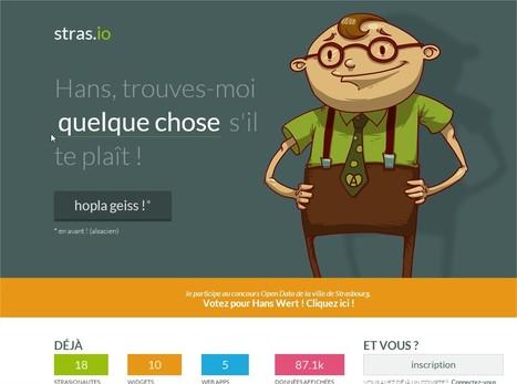 Grâce Hans, l'open data strasbourgeois est encore plus accessible ! | Agerix; les news | Scoop.it