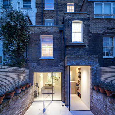 Grade II listed Chelsea town house extension by Moxon Architects | Architecture and Architectural Jobs | Scoop.it