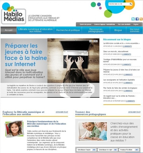 Des jeunes « HabiloMédias » | Pralines | Scoop.it