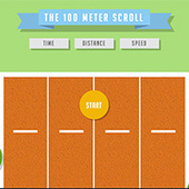 THE 100 METER SCROLL | internetawesomness | Scoop.it