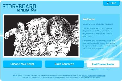 Storyboard Generator | ACMI | How to find and tell your story | Scoop.it