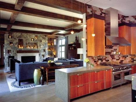 10 Creative Ways to Make your Old Kitchen Feel Modern | Home design | Scoop.it
