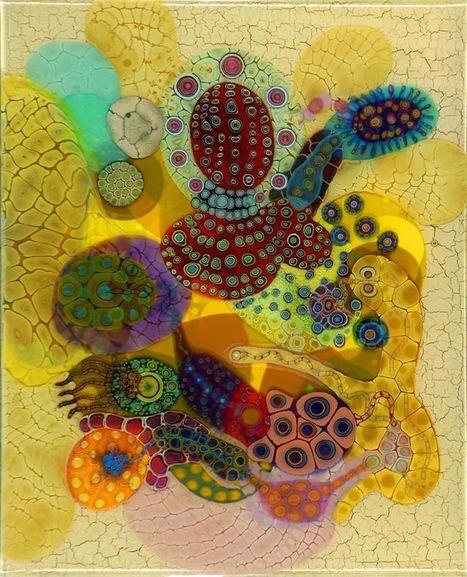 Cellules psychédéliques | regard par la fenêtre de lestoile sur les arts | Scoop.it