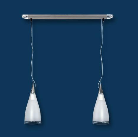 Serie Romana - art. 3402, colgantes de dos luces con base | Catálogos de empresas de iluminación | Scoop.it