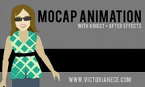 Kinect Tutorial: Kinect MoCap Animation in After Effects — Parts 1-4