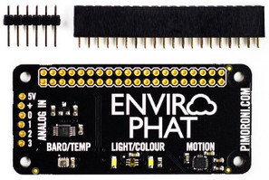 Raspberry Pi Zero sized HAT has four sensors with 10 variables | Open Source Hardware News | Scoop.it