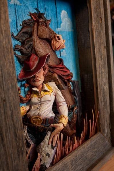 Lyla Warren – Disney Sculptures   All Geeks   Scoop.it