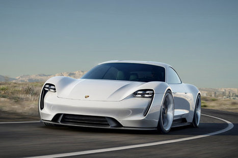 Porsche, Aiming at Tesla, Unveils Electric Concept Car | The Life of an Adjunct | Scoop.it