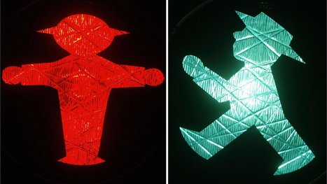 Germany: Berlin Ampelmann traffic icon seeks female match | German learning resources and ideas | Scoop.it