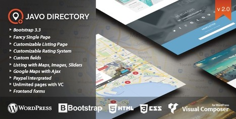 Javo Directory Wordpress Theme | Daily Nulled WordPress Themes & Plugins | Scoop.it