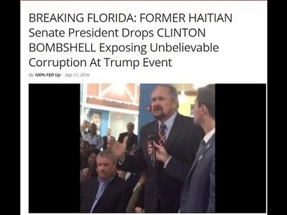 Haitian President Drops Hillary Clinton Bombshell Exposing Unbelievable Corruption | Saif al Islam | Scoop.it