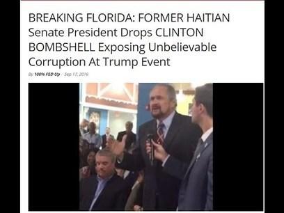 Haitian President Drops Hillary Clinton Bombshell Exposing Unbelievable Corruption | Saif al Islam | Scoop.it