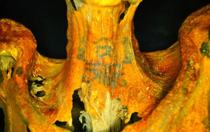 Égypte : d'incroyables tatouages découverts sur une femme momifiée depuis 3000 ans | SciencePost | Afrique | Scoop.it