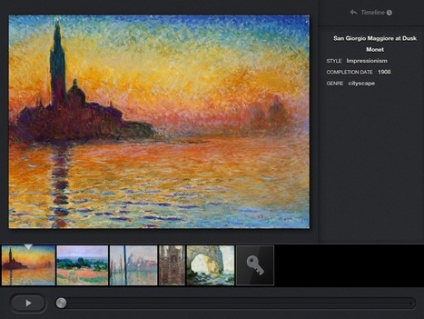 Art Museum on Your iPad | Instructional Technology In Education | Scoop.it