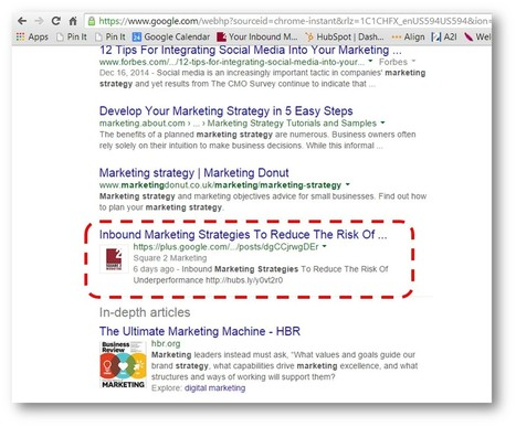 Inbound Marketing: Getting On The 1st Page Of Google In Just 6 Days | Social, Content, Hacking | Scoop.it