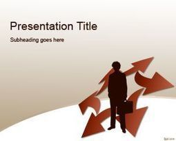 Free Competitive Strategy PowerPoint Template | Free  PowerPoint Templates | Scoop.it