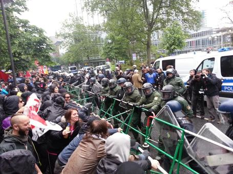 Blockupy 2013's Live Aggregator - latest video, livestream and photos #blockupy #occupy #ows #YAN | Occupy Belgium | Scoop.it