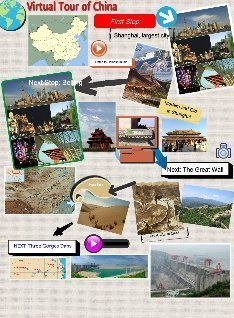 Vitrual Tour of China: text, images, music, video | Glogster EDU - 21st century multimedia tool for educators, teachers and students | EpCoP MOOC | Scoop.it