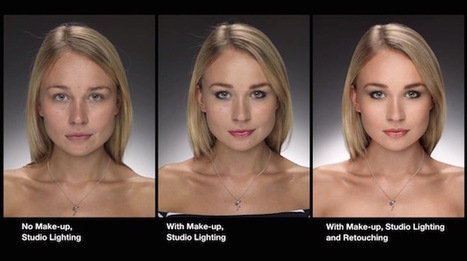 Before & After Photos Examine the Ethics of Photoshop in Portraiture | Photo Editing Software and Applications | Scoop.it