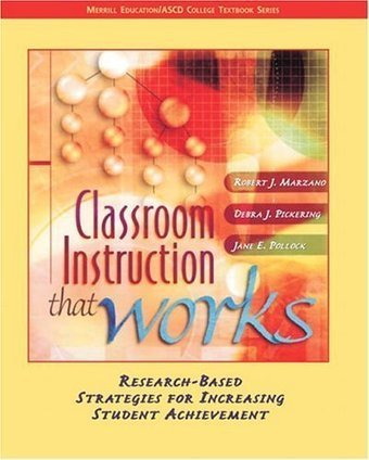 Classroom Instruction that Works: Research-Based Strategies for ... | ebps and inclusive education | Scoop.it