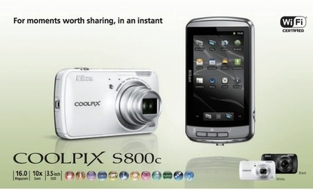 Nikon announces the Android-powered Coolpix 5800c | Android | Scoop.it