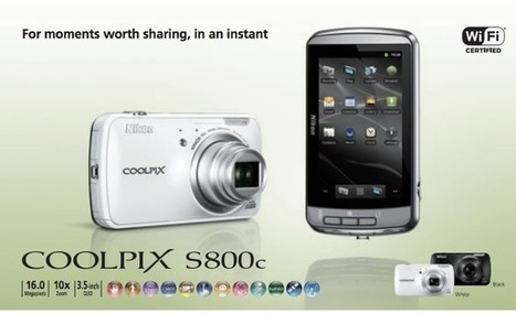 Nikon announces the Android-powered Coolpix 5800c | foteka | Scoop.it