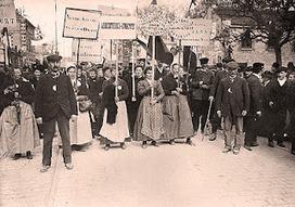 Printemps 1911 : la révolte des vignerons de Champagne | L'écho d'antan | Scoop.it