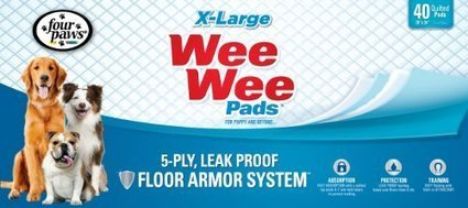 Four Paws Wee-Wee Pads, Extra Large,… | Pet Supplies | from my desk | Scoop.it