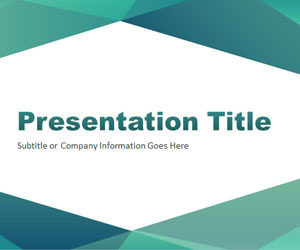 Abstract Angled PowerPoint Template | AWASA | Scoop.it
