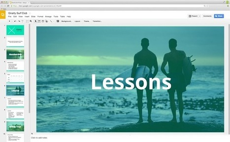 Google Drive Blog: More magic in Slides: editable themes and widescreen presentations | Education Technology - theory & practice | Scoop.it
