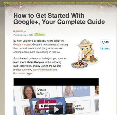 "20 Ways to Improve Your Google+ Knowledge | ""#Google+, +1, Facebook, Twitter, Scoop, Foursquare, Empire Avenue, Klout and more"" 