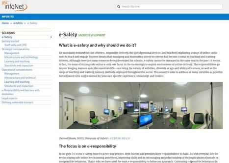 e-Safety InfoKit from Jisc infoNet & the RSC Network | E-safety | Scoop.it