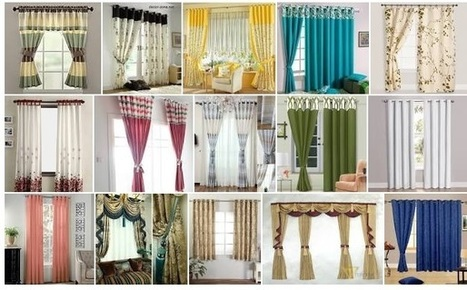 Window Curtains -Gives Elegant Look To Your Home   Gifts Gallery - Home Appliances, Home Furnishing, Home Decor, House Hold, Beauty Products   Scoop.it