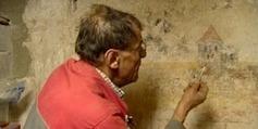 Un viticulteur de l'Ain trouve une fresque du XVIIe siècle dans sa cave - Francetv info   Le vin quotidien   Scoop.it
