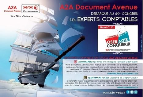 A2A Document Avenue débarque au 69e congrès des Experts Comptables | Marc Fornas | Scoop.it