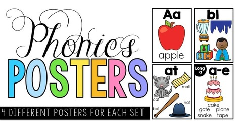 Phonics Posters - Clever Classroom Blog | Time to read | Scoop.it