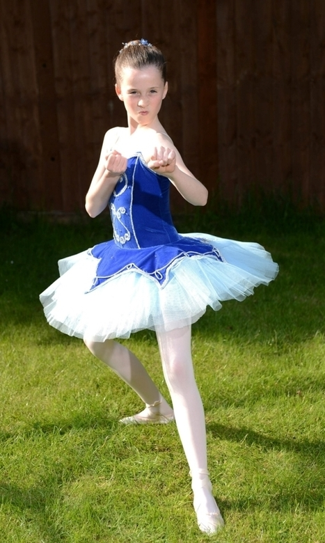 Ava May Lewellyn: Black belt girl wins place at Royal Ballet School ... | Incidental Music | Scoop.it