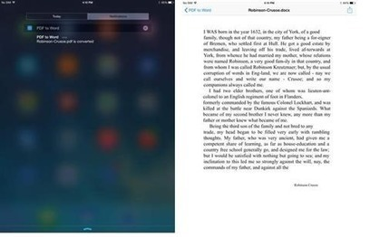 PDF to Word for iPad: Take Your Work With You | iPadNN.com | Tips for Managing and Organizing Electronic Documents | Scoop.it