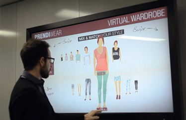 Australian digital signage co intros Virtual Wardrobe to fight showrooming | Creating Connections | Scoop.it