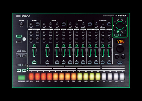 Roland revives the 808 and other classics with its AIRA line   Gear Acquisition Syndrome   Scoop.it