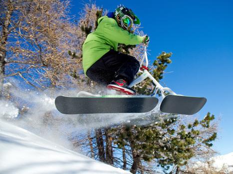 Le snowscoot au sommet lors des Ti days à Praloup   Evènements   Scoop.it