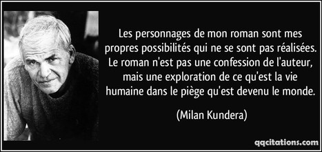 Milan Kundera | J'écris mon premier roman | Scoop.it