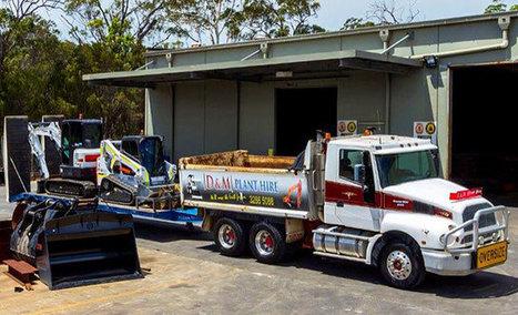 Combo Hire Services in Brisbane | D&M Plant Hire | Dandmplanthire | Scoop.it