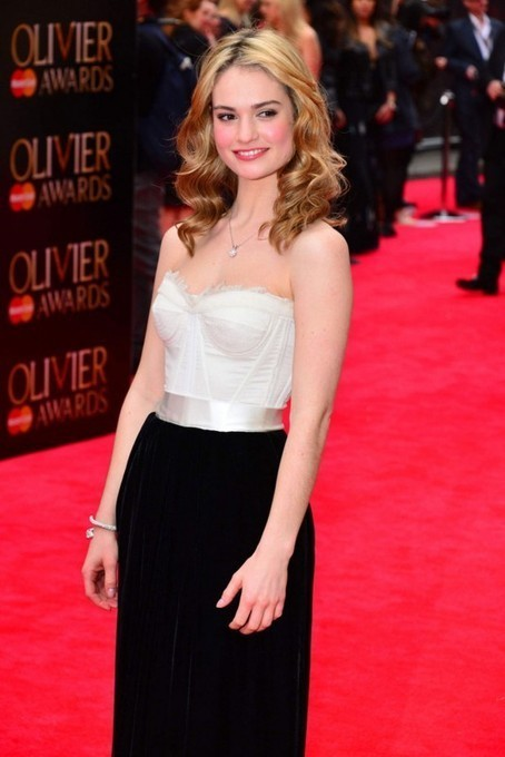 LILY JAMES at The Laurence Olivier Awards | BBC News Magazine | Scoop.it