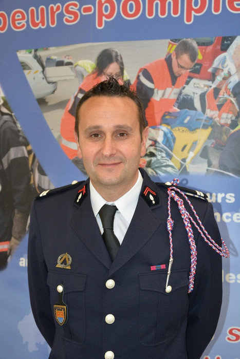 L'Aigle. Christophe Natario nouveau patron des pompiers | Le Mag ornais.fr | Scoop.it