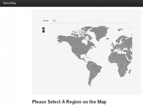NewsMap, servicio para encontrar noticias locales de cualquier parte del mundo | VIM | Scoop.it