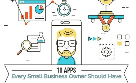 10 apps every Small Business Owner should have | Actu | Scoop.it