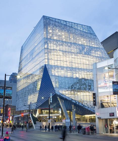 Ryerson University Student Learning Centre / Zeidler Partnership Architects + Snøhetta | Library of the Future | Scoop.it